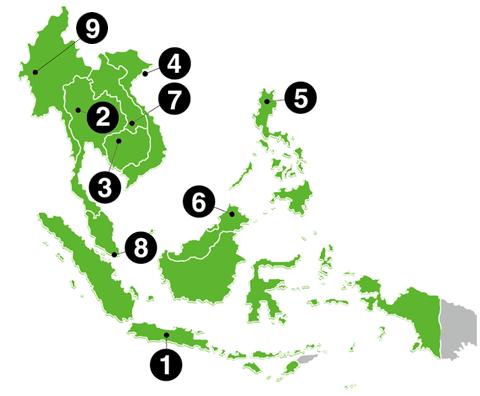 世界遺産マップ